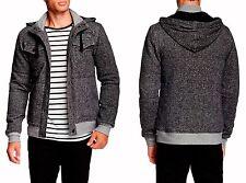 ROCK REVIVAL Black Quilted Hoodie Jacket Sz.XL - NEW