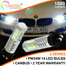 2x CANBUS BMW 3 SERIES DRL DAYTIME RUNNING LIGHTS XENON LED BULBS PW24W F30 F31