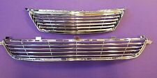 Lexus IS250 IS350 Billet Grille Grill Markless + Bumper Grille ALL Chrome