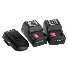 Wireless Trigger Trasmettitore + 2 Ricevitori 16CH per Nikon Speedlight