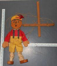 Vintage Pinocchio Wooden Doll Marionette Puppet