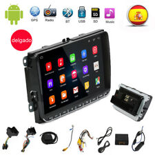 "9"" AUTORADIO ANDROID 6.0 2DIN GPS NAVI BLUETOOTH para VW GOLF 5 PASSAT POLO"