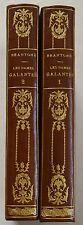 Les Femmes Galantes 2 tomes BRANTOME 11 gravures BOILVIN éd Flammarion 1915