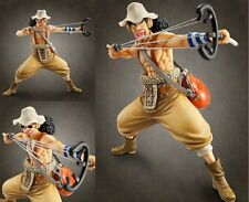 "9"" HOT Megahouse One Piece POP Usopp New World Sailing Again 1/8 Figure.a"