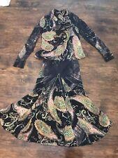 Roberto Cavalli Skirt Suit Size S. 100% Silk.