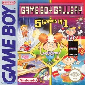 Nintendo GameBoy game - GB Gallery 5 Games in 1 CIB, boxed very good condition