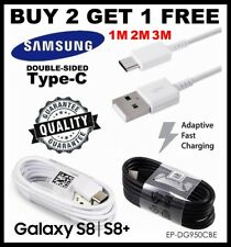 Samsung 1M 2M 3M Fast Charge USB Data Cable Lead For Galaxy S9 S8+ A3/A5 2017