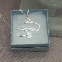 Eye Of Horus PENDANT-925 solid sterling silver pendant - 26 mm