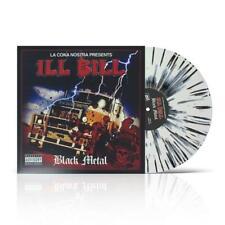 """Ill Bill - Black Metal SPLATTER COLOR Vinyl 2xLP x/90 + 7"""" Fat Beats Exclusive"""