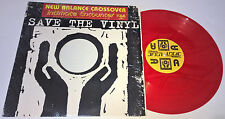 "NEW BALANCE CROSSOVER Intimate Encounter RED VINYL 12"" SINGLE Trance LUS 030"