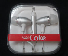 Diet Coke Earbuds in Carrying Case  - BRAND NEW