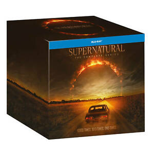 """SUPERNATURAL COMPLETE SERIES 1-15 COLLECTION BOX SET 51 DISC BLU-RAY RB """"NEW"""""""