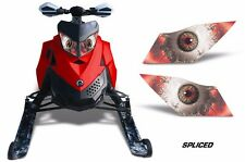 Headlight Eye Graphics Kit Decal Cover For Ski Doo Rev XP Summit 08-12 SPLICED R