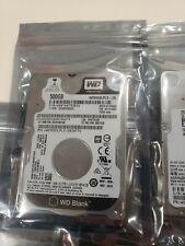 LOT of 5 - Western Digital Black 500GB (WD5000LPLX) SATA 2.5