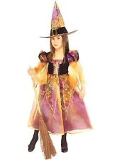 Elegant Witch Child Costume Halloween Fancy Dress  by Rubies MEDIUM (8-10) NEW