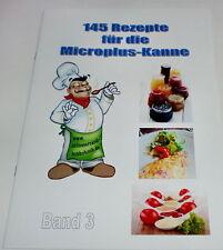 3. Band 145 REZEPTE FÜR DIE Microplus Kanne Micro Mikrowellenrezepte