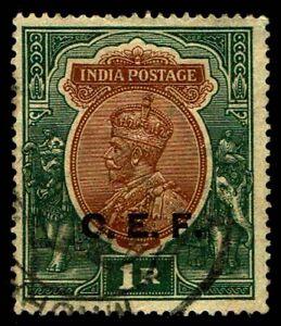 1913-21 India #M33 Military Stamp  - Used - VF - CV$375.00  (ESP#4348)