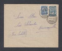 COLOMBIA 1928 SCADTA ISSUE ON AIRMAIL COVER BOGOTA TO BARRANQUILLA