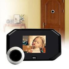 3.0'' LCD Digital Wireless Video Doorbell Door Phone Peephole Hidden Camera 145°