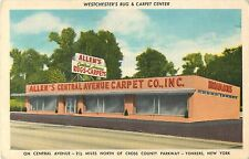 A View of Allen's Central Avenue Carpet Company, Yonkers NY