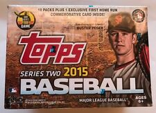 15 Topps Series 2 Baseball Relic Value BX 10pk