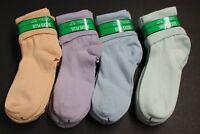 1PAIRS SKIDDER Women/'S Non Slip RUBBER Slipper fuzzy soft Socks Ankle YELLOWPINK