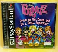 Bratz MGA Girls Game ~  Playstation 1 2 PS1 PS2 Game Complete Mint Disc 1 Owner