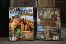 LEGENDS OF THE WORLD  4 EPIC GAMES JEWEL QUEST MYSTERIES IV ORACLE OF PC-CD-ROM