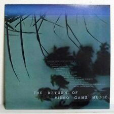 THE RETURN OF VIDEO GAME MUSIC LP w/Sheet JAPAN synth disco funk breaks FAMICOM