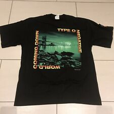 TYPE O NEGATIVE - World Coming Down - Promo Shirt - ultra rar! Blue Grape - 1999