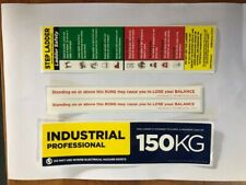 Ladder Safety Sticker Kit for Step Ladders