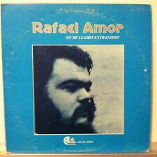 RAFAEL AMOR No Me Llames Extranjero LP 1977 AL Records  Spain VG++ vinyl