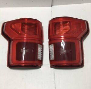✅ 18-20 FORD F150 LED Tail lights Lamps Blind Spot BLIS OEM Set RH LH Pair