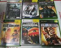 Xbox games Shooter bundle 6 games