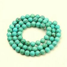 Turquoise Beads Synthetic Dyed  4mm Beads approx 123 Gemstone