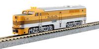 D&RGW Alco PA-1 Diesel Locomotive 'Aspen Gold' Four Stripe Kato 176-4108 N-Scale