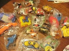Bulk lot McDonald's happy meal toy x 20 1998-2000 all in packaging assorted