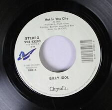 Rock 45 Billy Idol - Hot In The City / Catch My Fall (Remix Fix) On Chrysalis