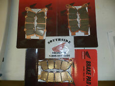 GENUINE HONDA COMPLETE BRAKE PAD SET FRONT & REAR GOLDWING GL1800 & F6B