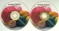 2507 KNITTING PATTERNS Baby Childrens Toddlers Clothes Toys Accessories 2 DVDs