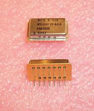 M55310/16-B41A 44M0000 QTECH 44MHz MILTARY CRYSTAL OSCILLATOR  FREE SHIPPING