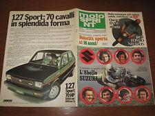 MOTOSPRINT 1978/47 PROVA YAMAHA XS 750 PUBBLICITA' 127 SPORT 70 HP