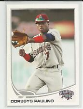 Dorssys Paulino Pittsburgh Pirates 2013 Topps Pro Debut Minor League Card