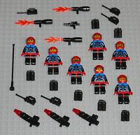 LEGO Minifigures 7 Space Marines Spyrius Army Weapons Lego Minifigs Halo Guys