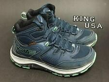 Women's Hoka One One Tor Tech Mid Hiking Boots Midnight Navy Spring Bud Size 7