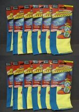 """24 Zwipes Microfiber Clearvision Eye Glass Cloths 6.5"""" x 7"""" (Total 12 Packs)"""