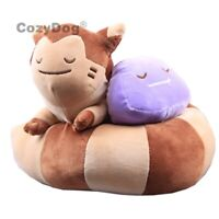 Ditto Furret with Ditto Plush Animal Toy Stuffed Doll Figure 12'' Kids Gift