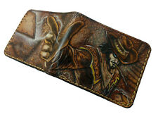 Men's 3D Genuine Leather Wallet, Hand-Carved, League of Legends, Twisted Fate
