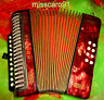 WOW  MADE IN GERMANY C/F DIATONIC  HOHNER  ERICA  BUTTON ACCORDION  + LUXUSCASE