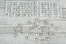 144 Deluxe Diamante Diamond Small Round Table Gems Confetti Crystal Scatter